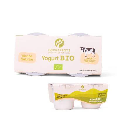400 - bianco - yogurt - 125ml*2 - occhipinti - latticini di fattoria - modica